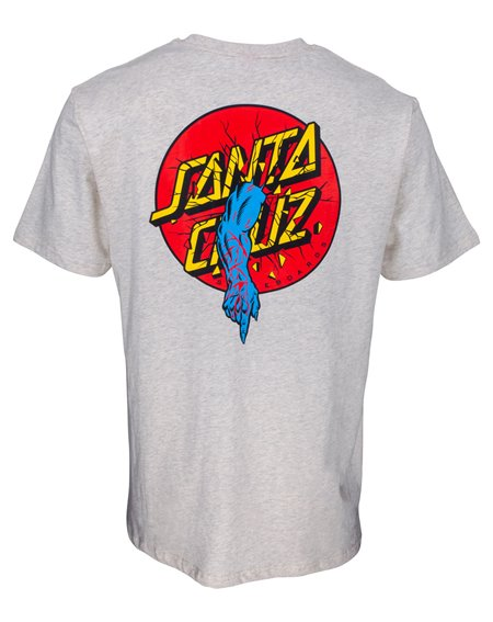 Santa Cruz Men's T-Shirt Rob Dot Athletic Heather