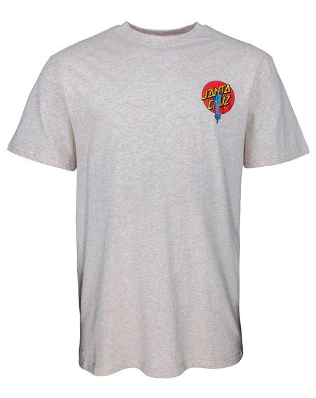 Santa Cruz Rob Dot T-Shirt Homme Athletic Heather