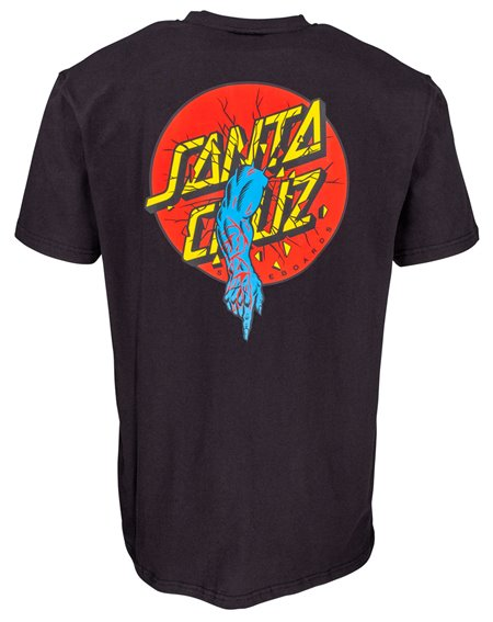 Santa Cruz Rob Dot T-Shirt Uomo Black