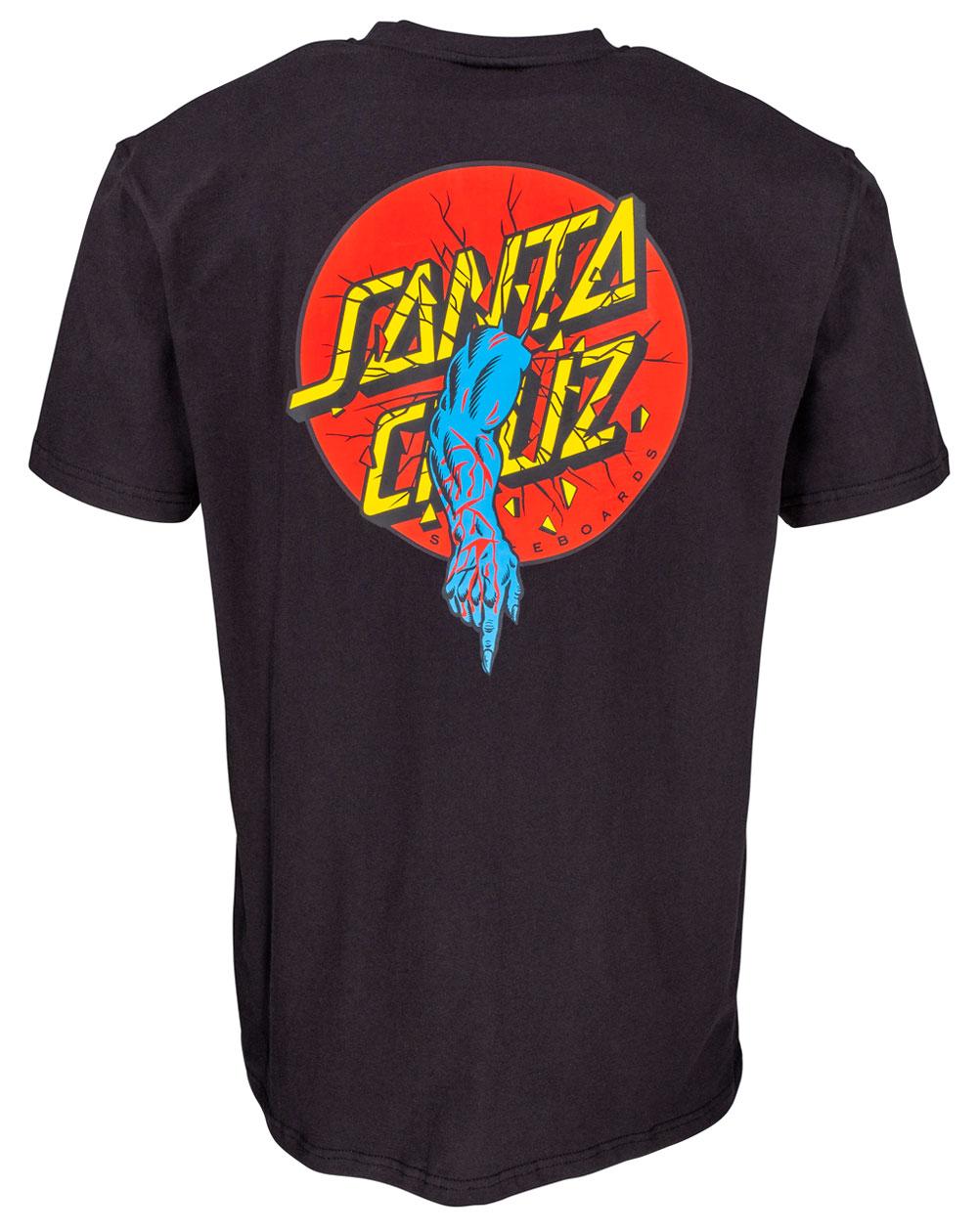 Santa Cruz Men's T-Shirt Rob Dot Black
