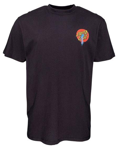 Santa Cruz Rob Dot T-Shirt Uomo Black