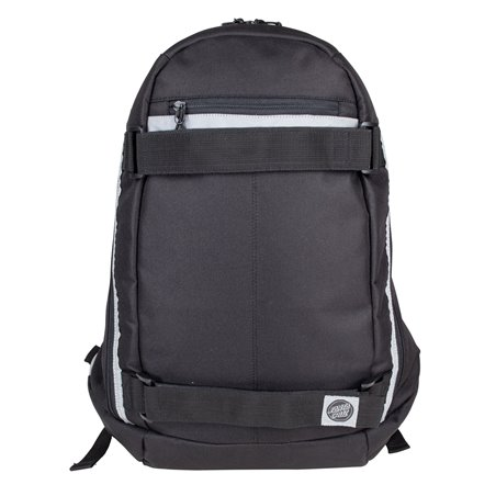 Santa Cruz Plaza Skateboard Backpack Black