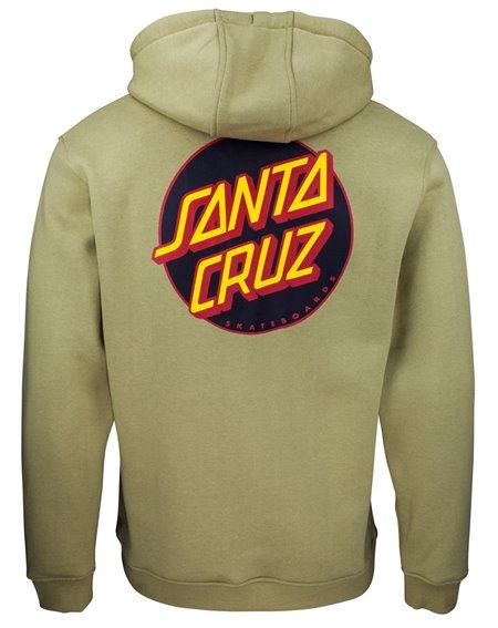 Santa Cruz Other Dot Felpa con Cappuccio Uomo Sage