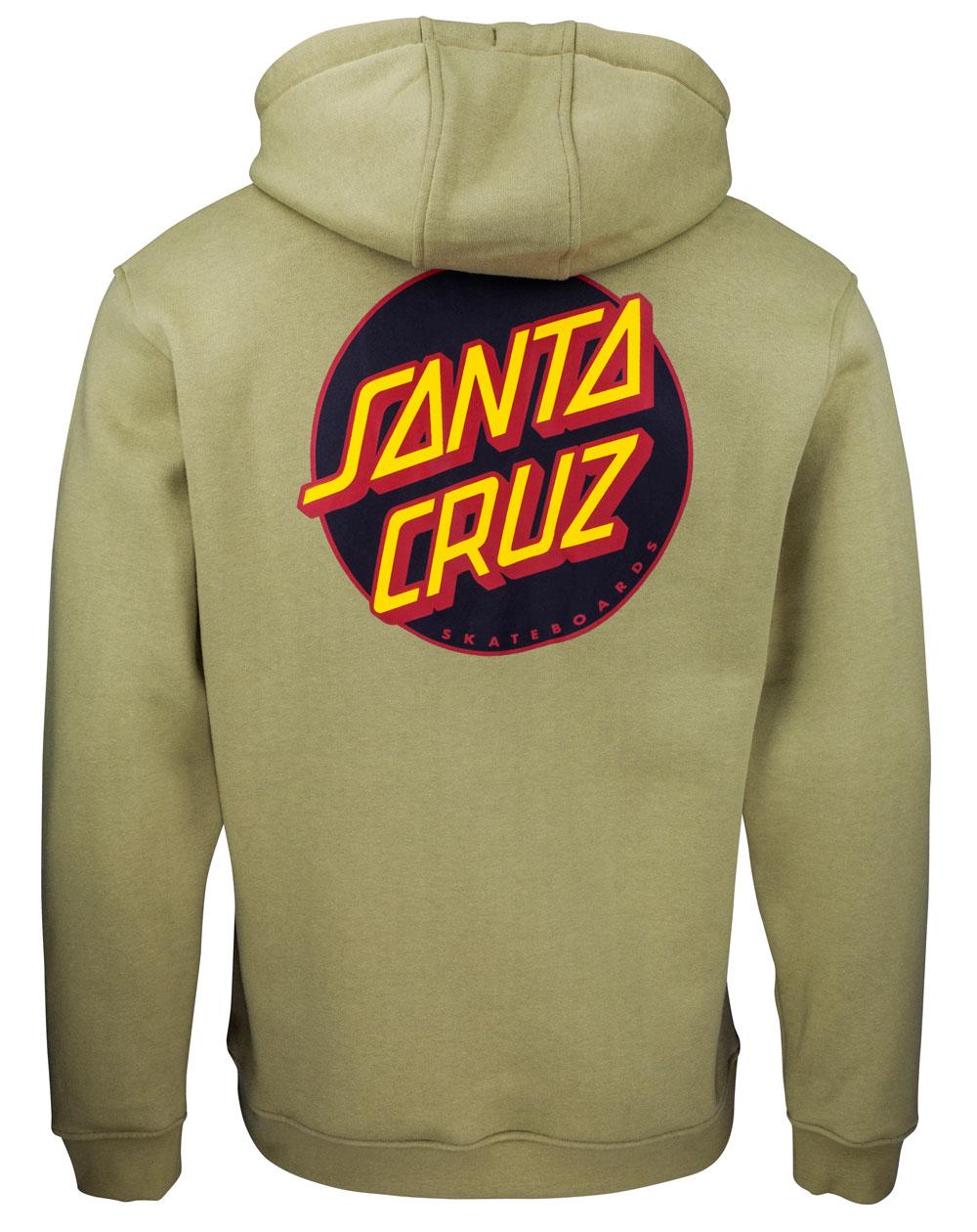 Santa Cruz Men's Hoodie Other Dot Sage