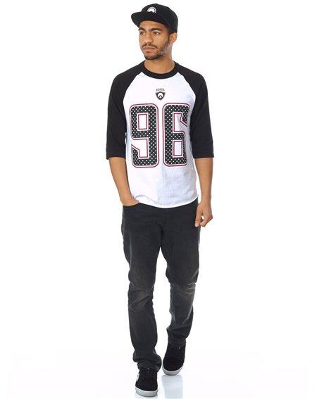 Osiris Game Day Camiseta para Homem Black/White