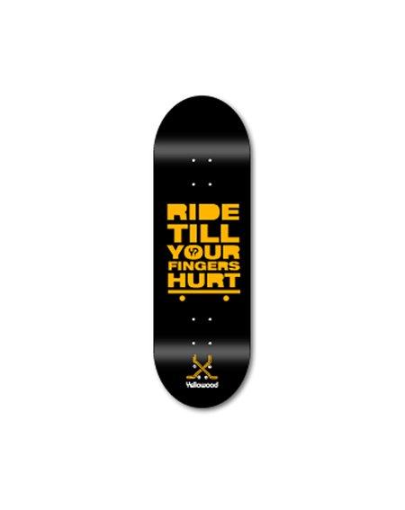 Yellowood Tabla Fingerboard Ride Z3