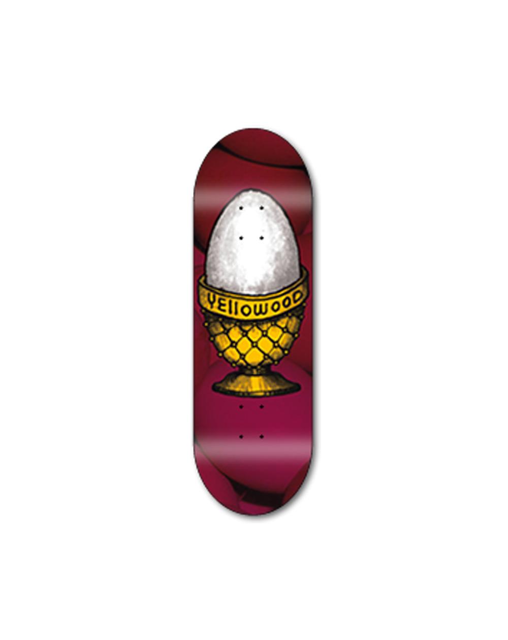Yellowood Egg Z3 Fingerboard Deck