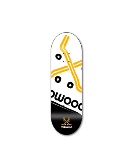 Yellowood X Logo Z3 Fingerboard Deck
