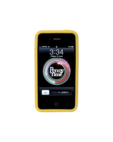 Penny Funda iPhone 4/4s Penny Yellow