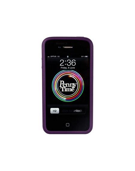 Penny Capa iPhone 4/4s Penny Purple