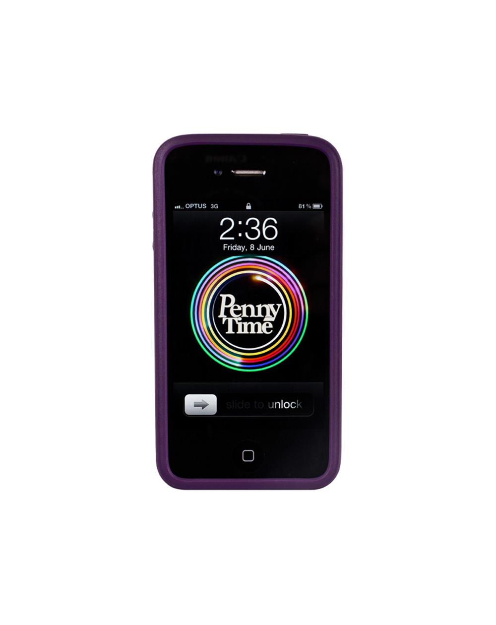 Penny Penny Iphone 4/4s Schale Purple