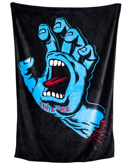 Santa Cruz Blanket Screaming Hand Black