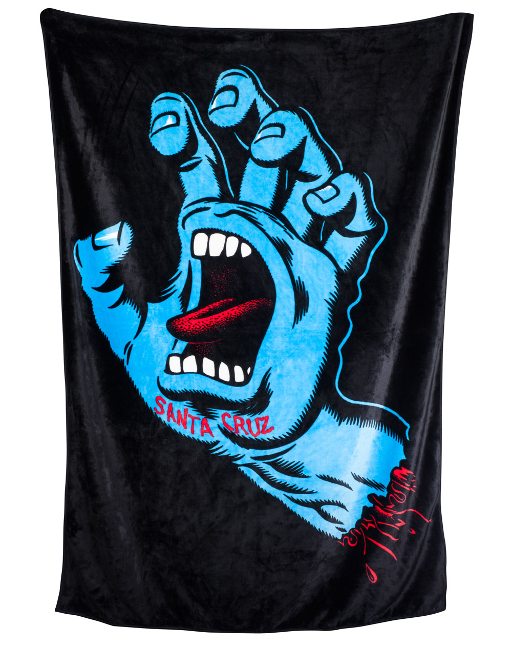 Santa Cruz Screaming Hand Couverture Black