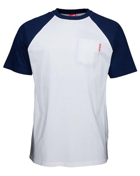 Santa Cruz Opus Dot T-Shirt Homme Dark Navy/White