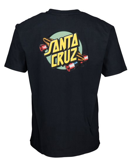 Santa Cruz Summer of 76 T-Shirt Uomo Black