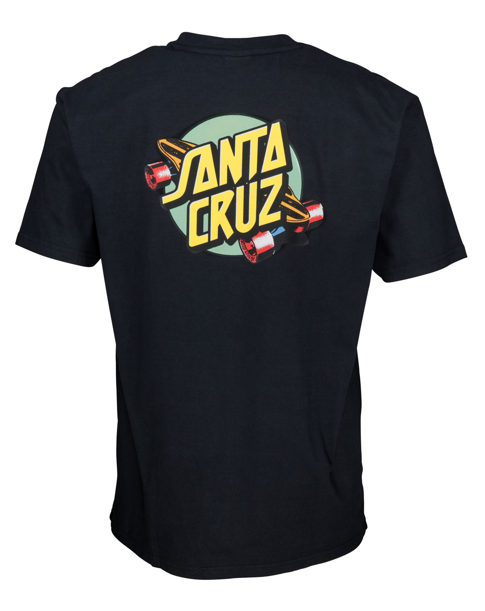 Santa Cruz Men's T-Shirt Summer of 76 Black