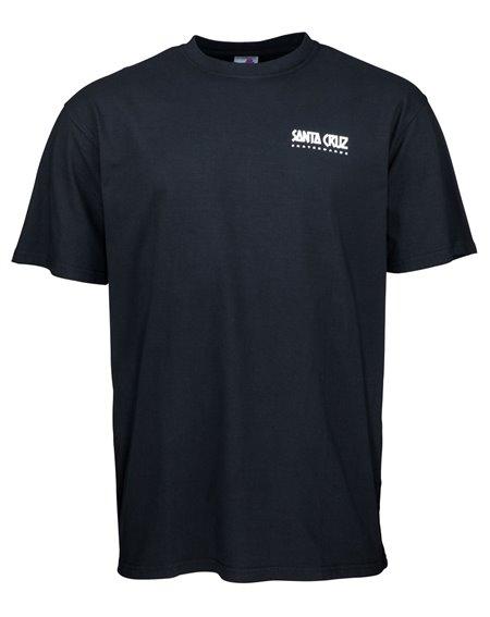Santa Cruz Summer of 76 T-Shirt Uomo Black