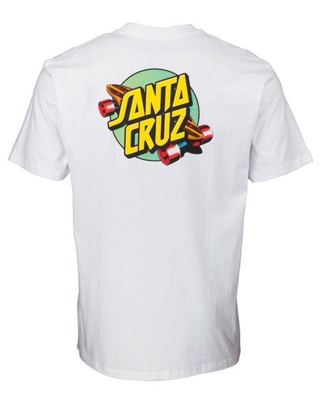 Santa Cruz Summer of 76 Camiseta para Homem White
