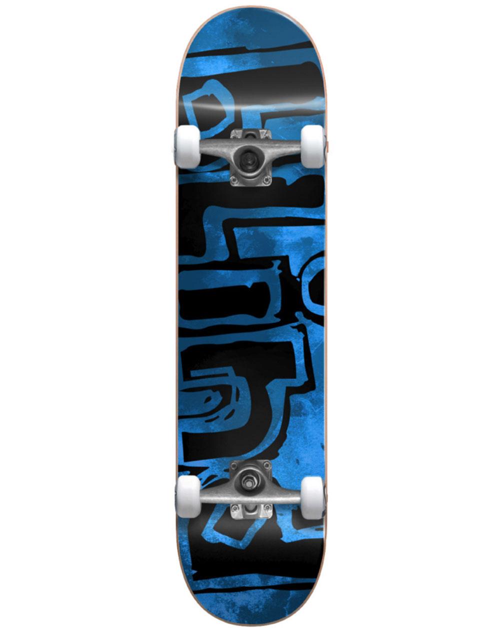 Blind Og Water Color Mid Skateboard with Backpack Blue