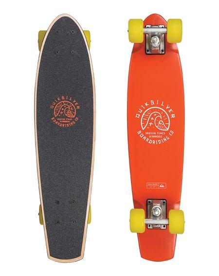 Quiksilver Lanai Skateboard Cruiser Orange