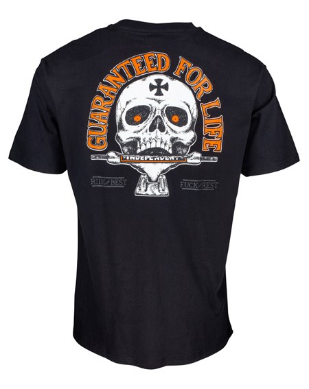 Independent Guaranteed T-Shirt Uomo Black