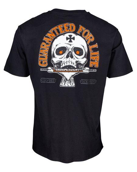 Independent Guaranteed T-Shirt Uomo Black