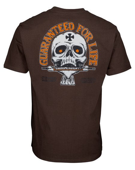 Independent Guaranteed T-Shirt Uomo Dark Chocolate