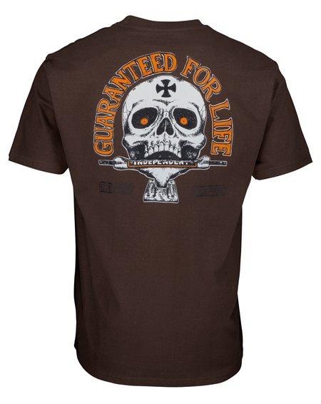Independent Guaranteed T-Shirt Uomo Dark Chocolate
