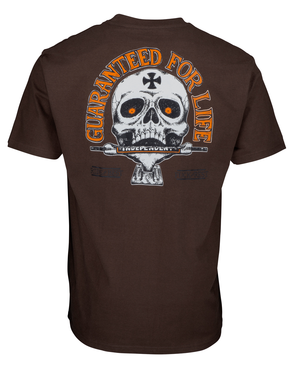 Independent Herren T-Shirt Guaranteed Dark Chocolate