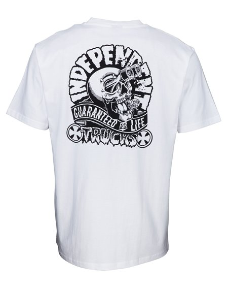 Independent Herren T-Shirt Gouge White
