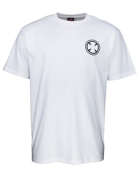 Independent Men's T-Shirt Gouge White