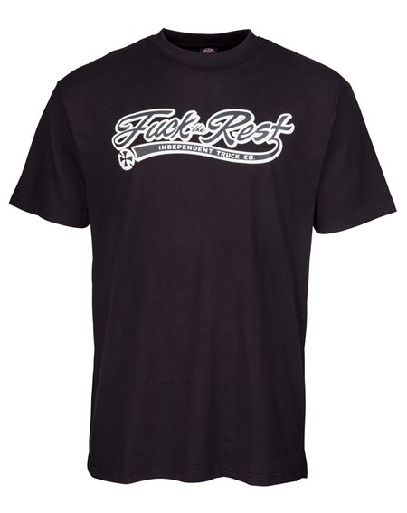 Independent FTR Script T-Shirt Homme Black