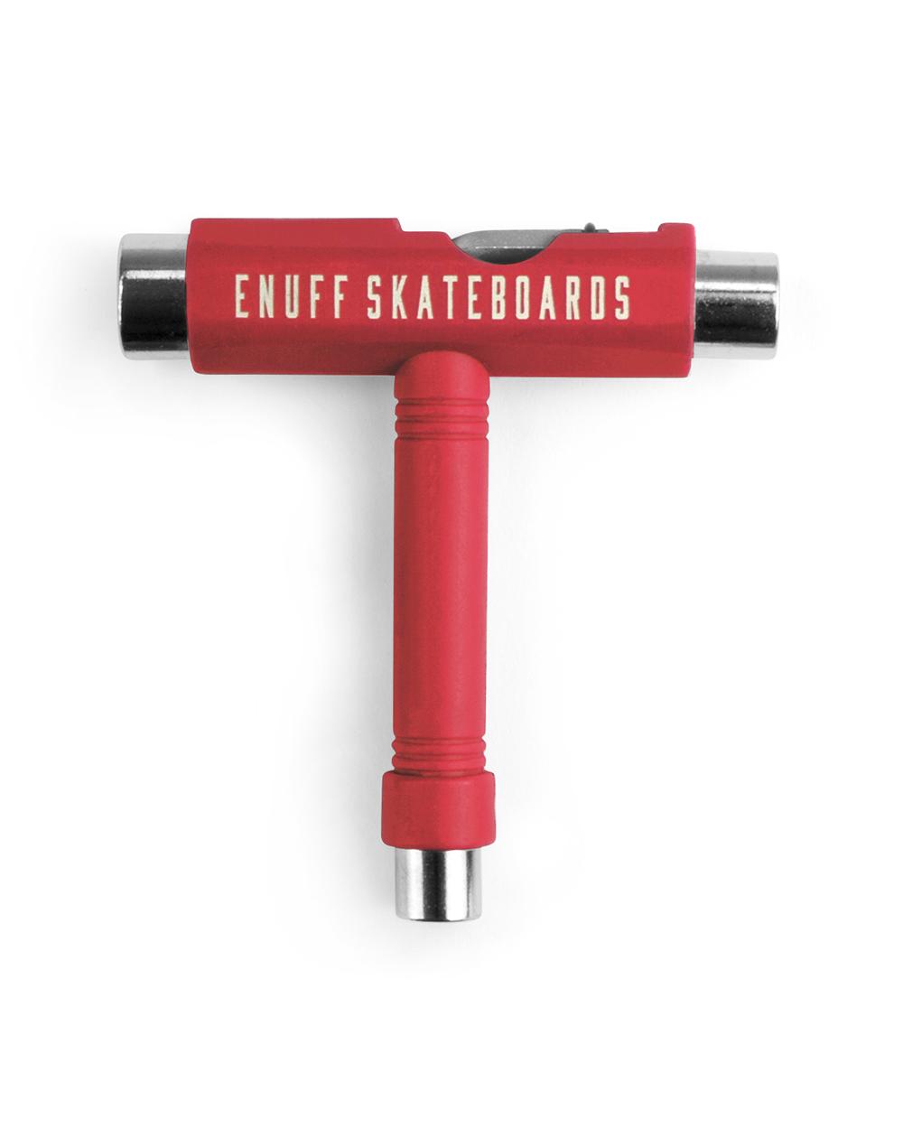 Enuff Chiave Multiuso Skateboard Essential Tool Red
