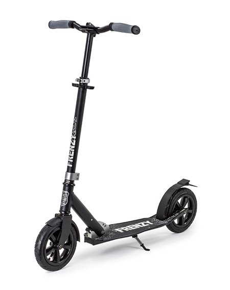 Frenzy 205mm Pneumatic Plus Recreational Scooter Black