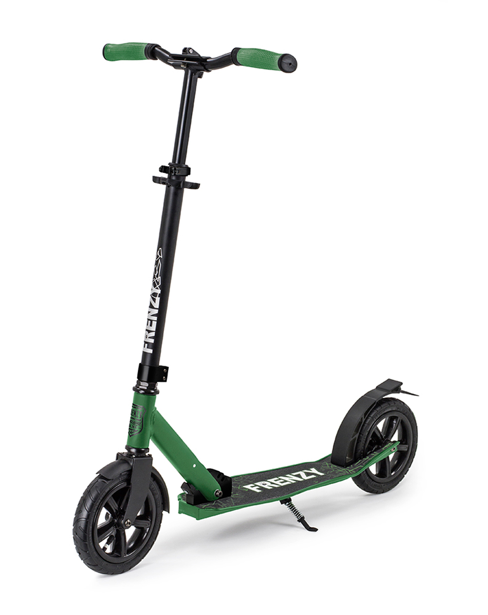 Frenzy 205mm Pneumatic Plus Recreational Scooter Military Green