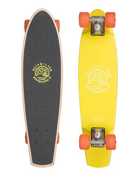Quiksilver Lanai Skateboard Cruiser Citron