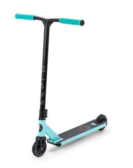 Slamm Scooters Monopattino Freestyle Urban V8 Teal