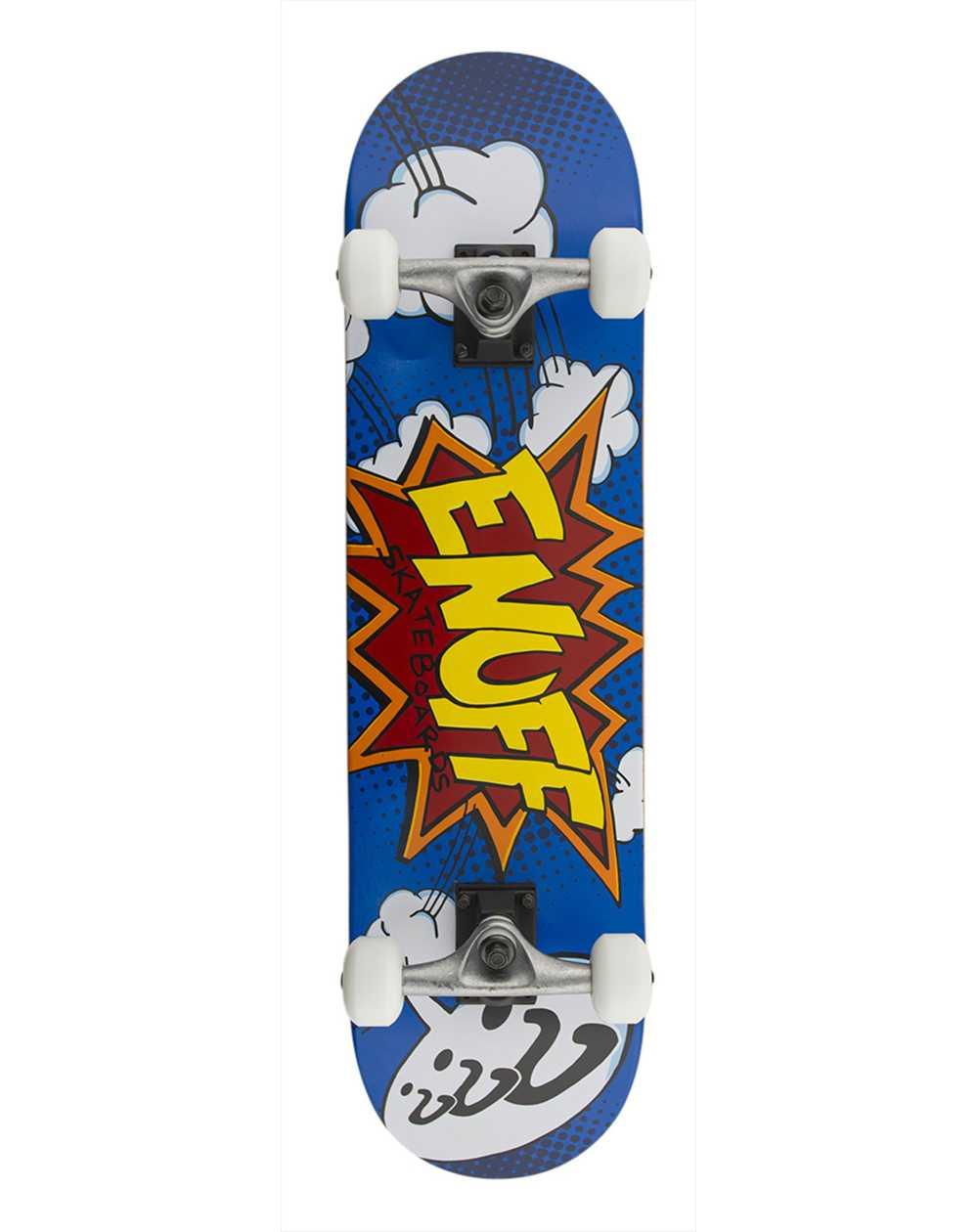"Enuff Pow 7.75"" Complete Skateboard Blue"