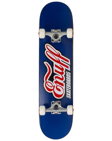 "Enuff Classic Logo 7.75"" Complete Skateboard Blue"