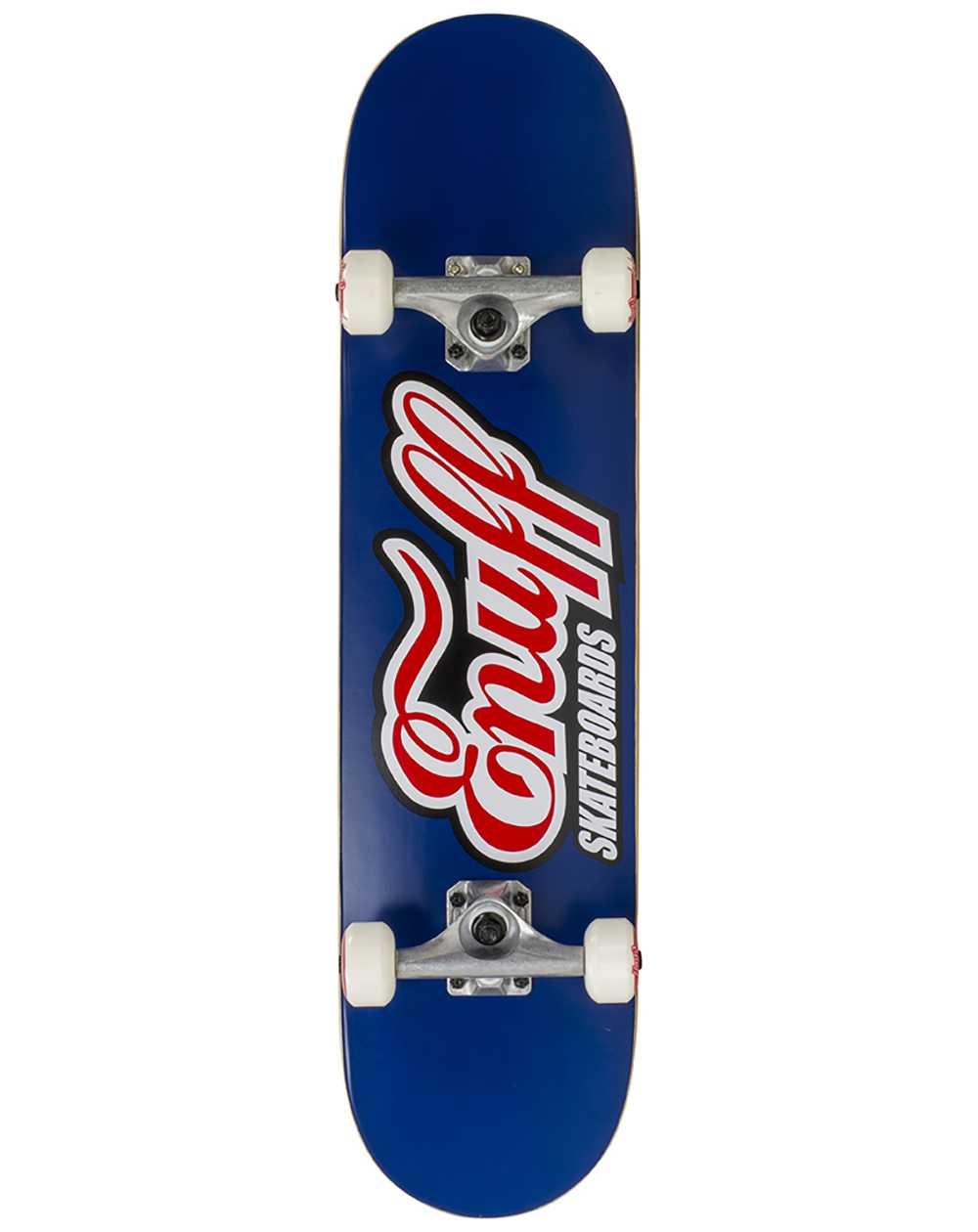 """Enuff Skateboard Classic Logo 7.75"""" Blue"""