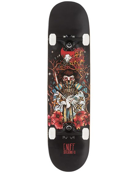"Enuff Nihon 7.75"" Complete Skateboard Geisha"