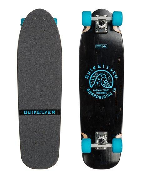Quiksilver Candi Skateboard Cruiser Blue