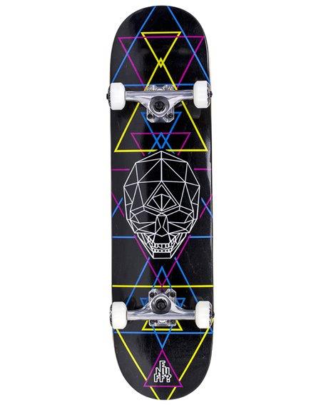 "Enuff Skateboard Complète Geo Skull 8.00"" Black"
