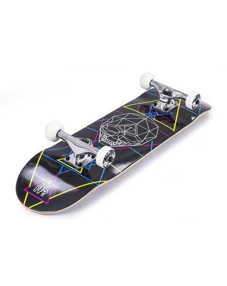 "Enuff Skateboard Geo Skull 8.00"" Black"
