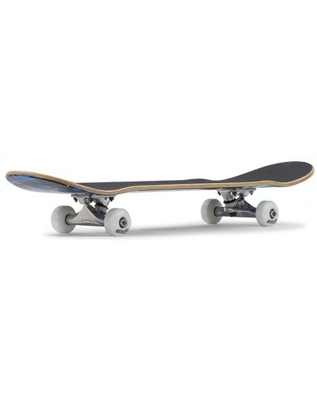"Enuff Skateboard Floral 7.75"" Blue"