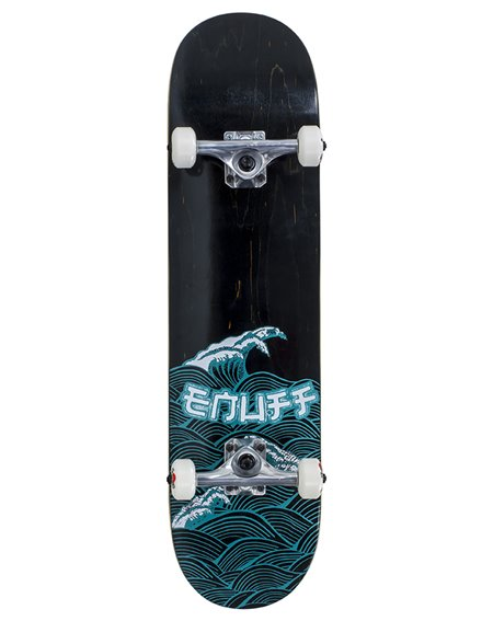 "Enuff Big Wave 8.00"" Complete Skateboard Black/Blue"