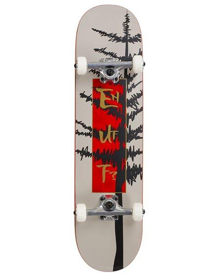 "Enuff Skateboard Complète Evergreen Tree 8.00"" Warm Grey/Red"