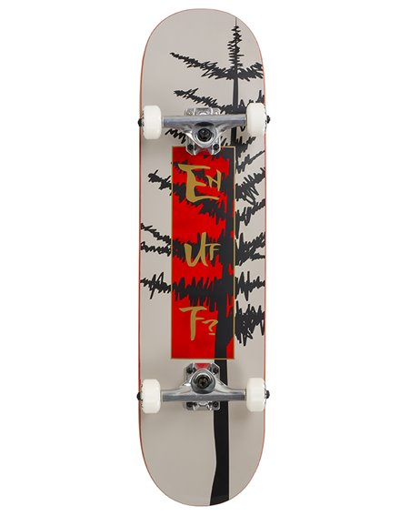 "Enuff Skateboard Evergreen Tree 8.00"" Warm Grey/Red"