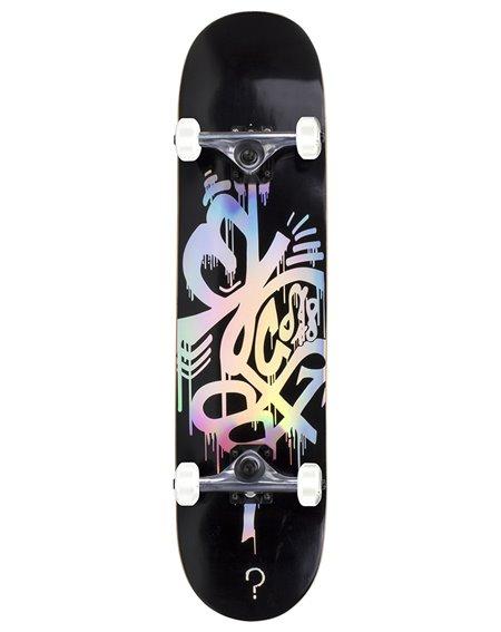 """Enuff Hologram 8.00"""" Complete Skateboard Black"""