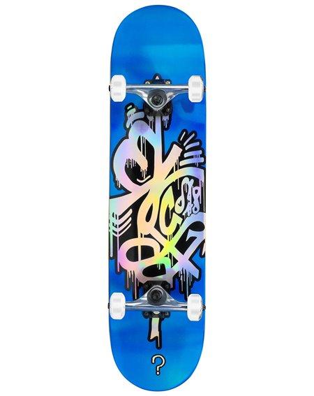 """Enuff Skate Montado Hologram 8.00"""" Blue"""